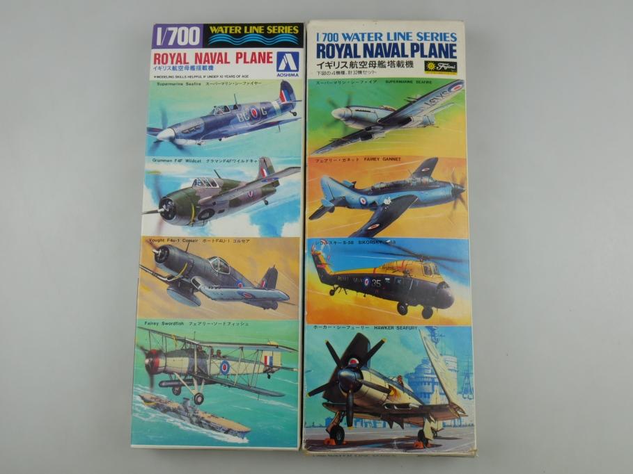 Aoshima Fujimi 1/700 Konvolut Royal Naval Plane 2x Fujimi OVP kit 111026