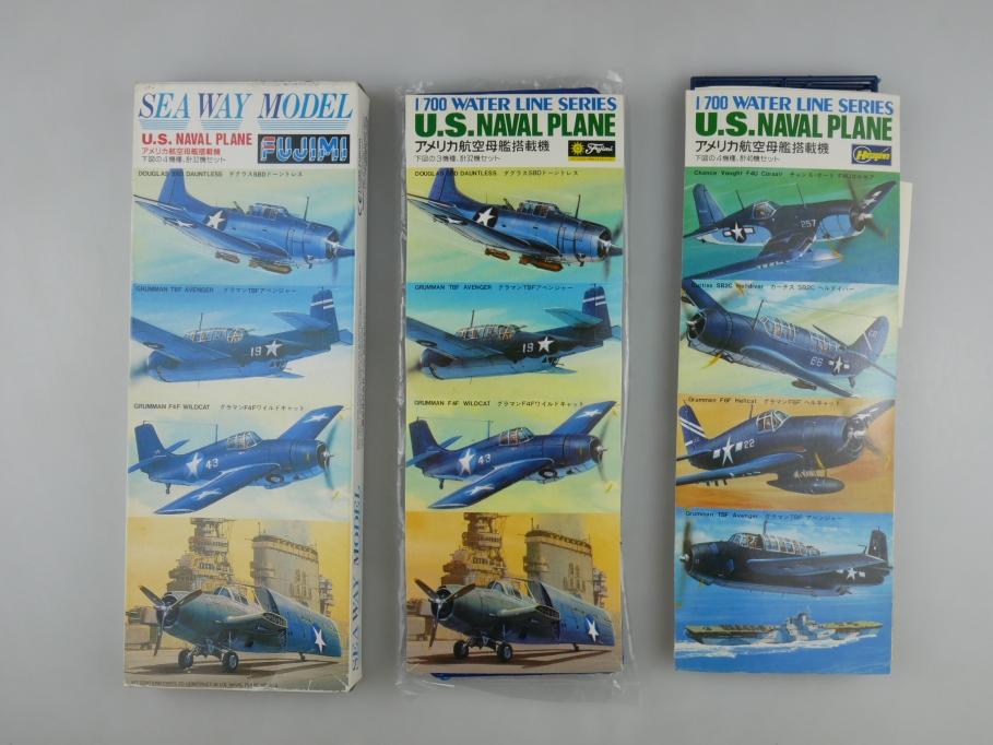Fujimi Hasegawa 1/700 Sea Way US Naval Plane No 31 OVP kit 111030