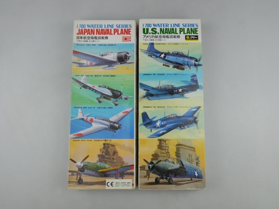 Tamiya Fujimi 1/700 Japanese / U.S. Naval Planes INHALT DOPPELT Box kit 111201