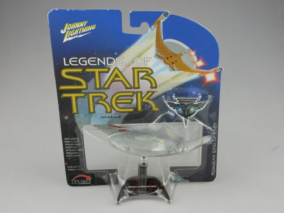 Johnny Lightning Legends of Star Trek ROMULAN Bird of Prey Series 1 111113