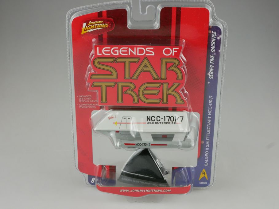 Johnny Lightning Legends of Star Trek Galileo II Shuttlecraft NCC-1701/7 111114