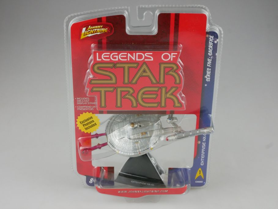 Johnny Lightning Legends of Star Trek Enterprise NX-01 Series 5 111118