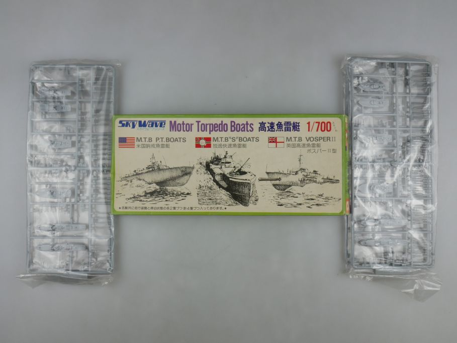 GM 1/700 2x Sky Wave Motor Torpedo Boats U.S. Deutsch Royal 2 1x Box kit 111206