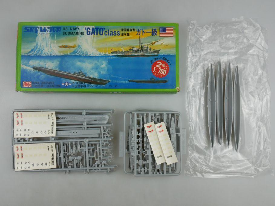 GM 1/700 2x Sky Wave US. Navy Submarine 'Gato' Class No 18 in 1x Box kit 111207
