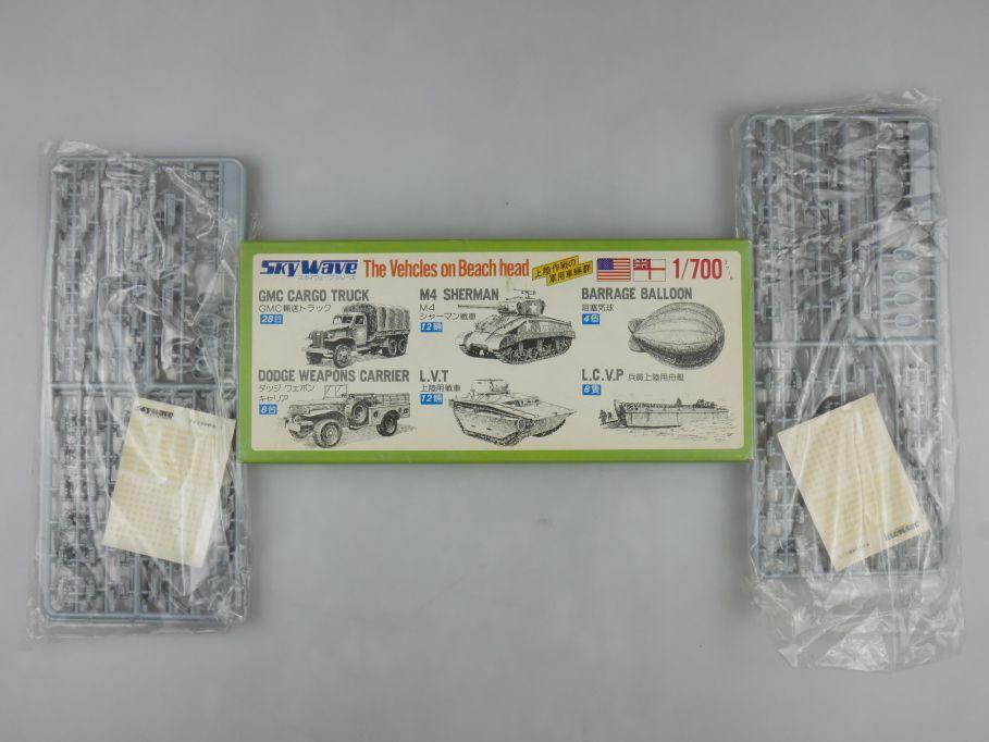 GM 1/700 2x Skywave US. / Royal The Vehicles on Beach Head No 6 OVP kit 111245