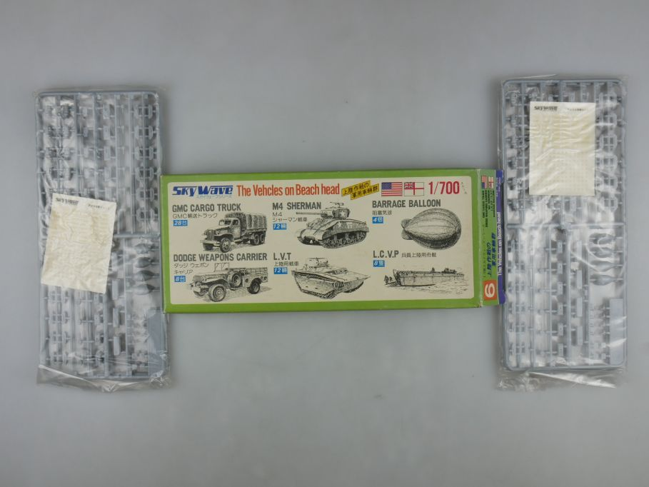 GM 1/700 2x Skywave US. / Royal The Vehicles on Beach Head No 6 OVP kit 111246