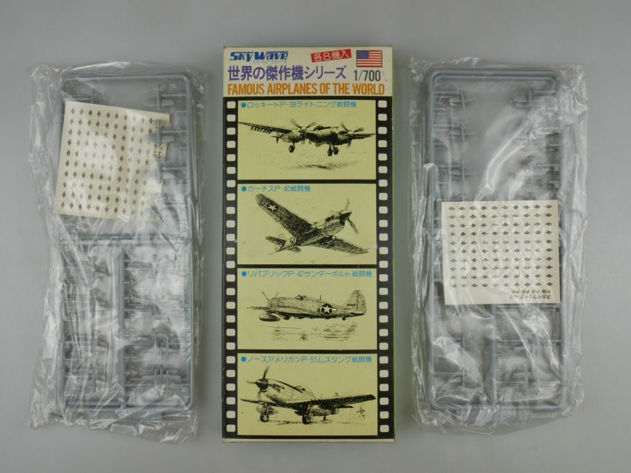 GM 1/700 2x Sky Wave American Famous Airplanes of the World 12 1x Box kit 111253
