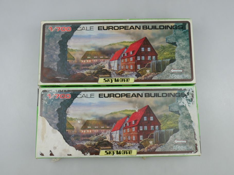 GM 1/700 2x Sky Wave European Buildings 9x Gebäude No 25 OVP kit 111258