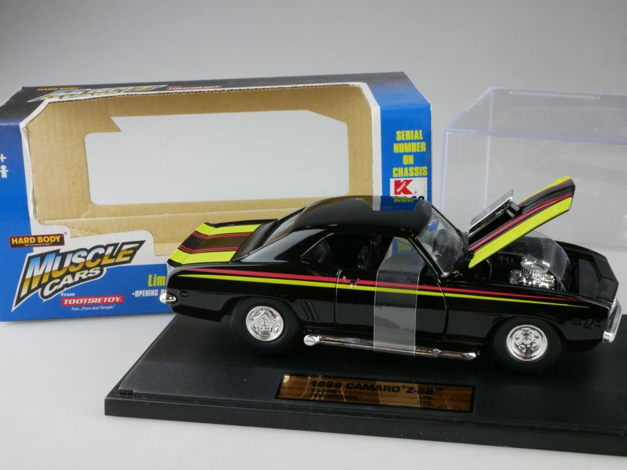 1/32 1969 Camaro Z-28 US Muscle Cars HARD BODY TootsieToy 3281 in Box 111175