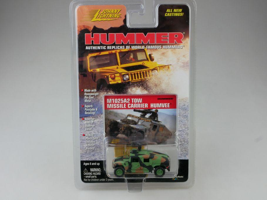 Johnny Lightning HUMMER M1025A2 Missile Carrier HUMVEE military MOC 111451