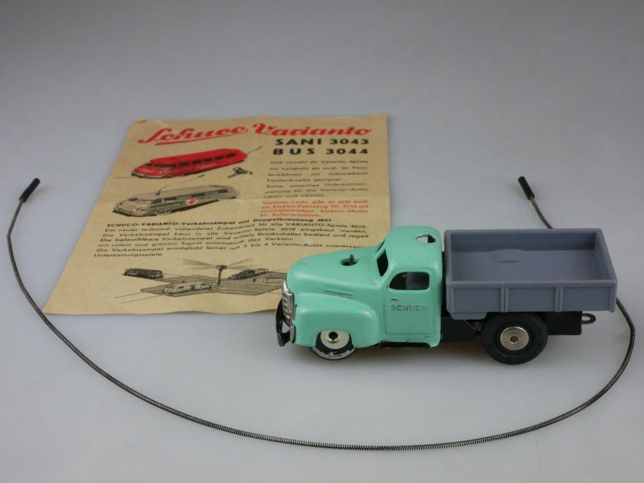 Schuco Varianto Lasto 3042 Blech US Zone Leitdraht Germany vintage tintoy 111354
