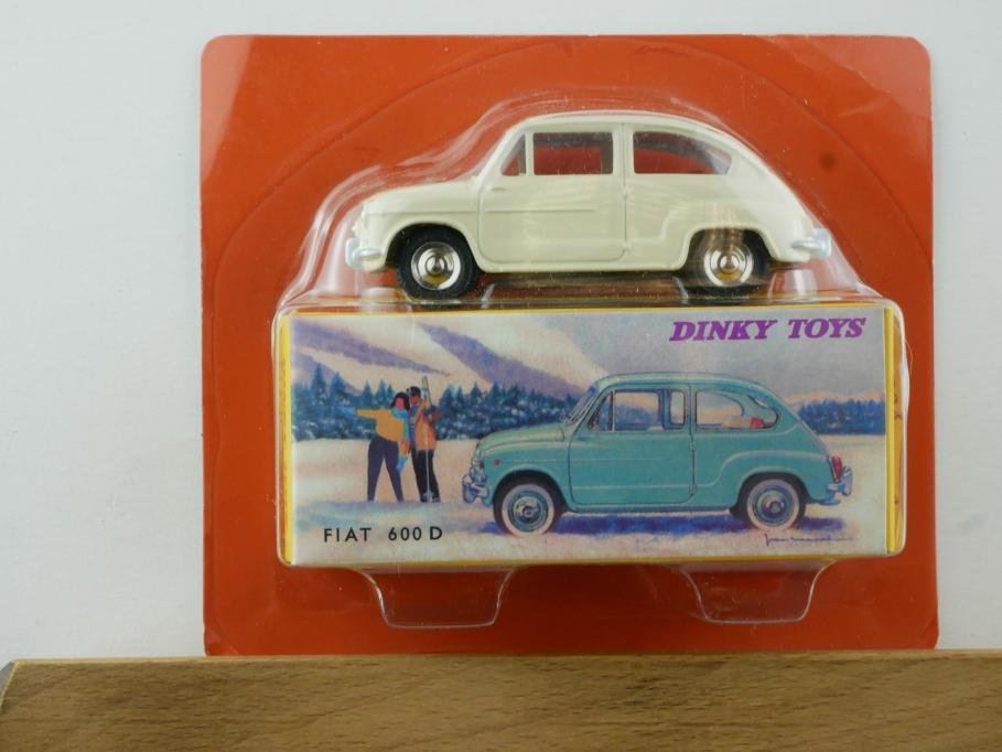 Atlas 1/43 Dinky Toys Fiat 600 D 520 beige w/ Box 111381