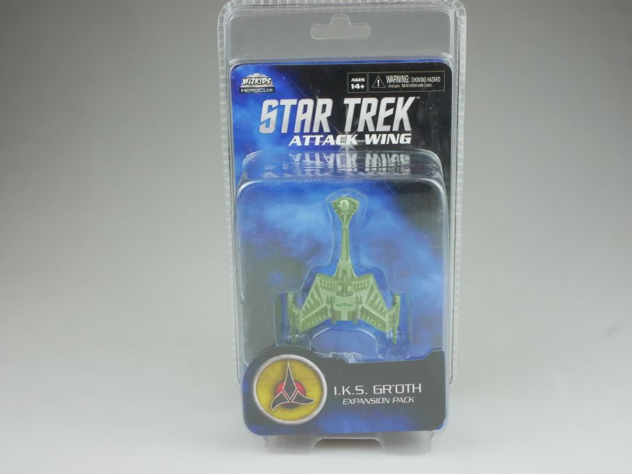 Star Trek Attack Wing Expansion Pack I.K.S. GR´OTH HEROCLIX WiZK!DS BOX 111391