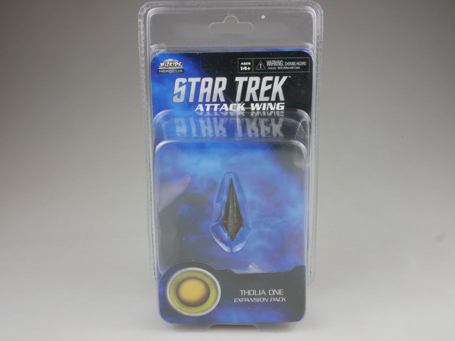 Star Trek Attack Wing Expansion Pack THOLIA ONE HEROCLIX WiZK!DS BOX 111393