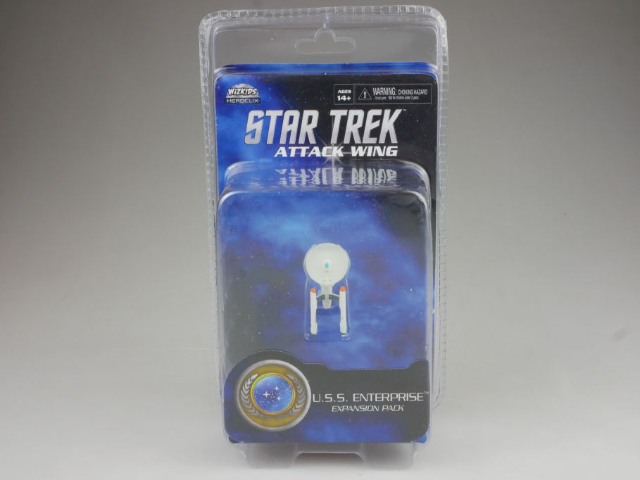 Star Trek Attack Wing Expansion Pack USS Enterprise HEROCLIX WiZK!DS BOX 111394