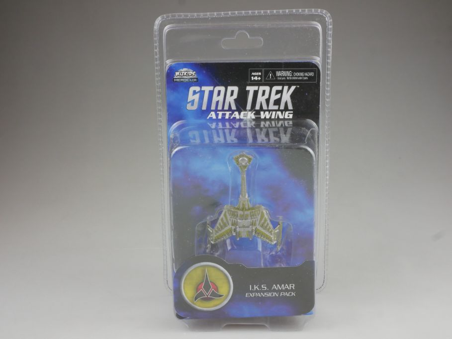 Star Trek Attack Wing Expansion Pack I.K.S. AMAR HEROCLIX WiZK!DS BOX 111395