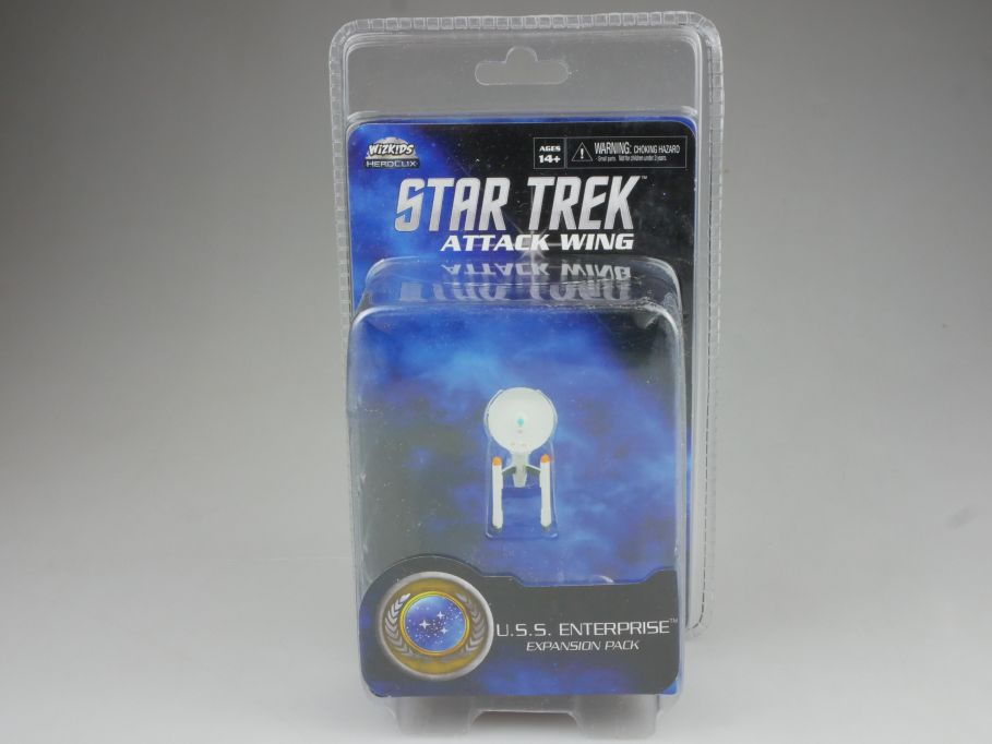 Star Trek Attack Wing Expansion Pack USS Enterprise HEROCLIX WiZK!DS BOX 111396