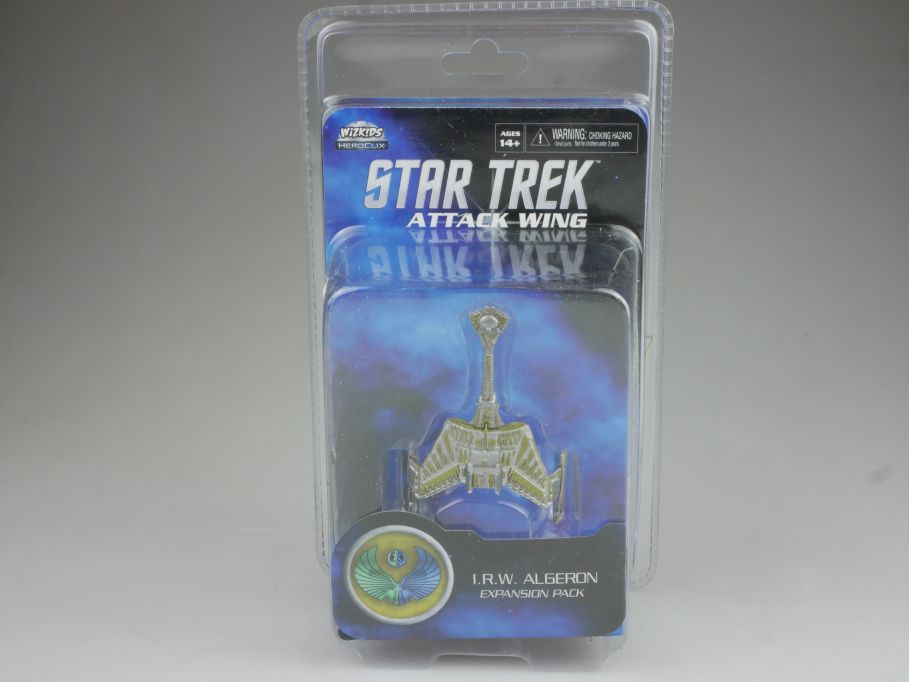 Star Trek Attack Wing Expansion Pack I.R.W. ALGERON HEROCLIX WiZK!DS BOX 111397