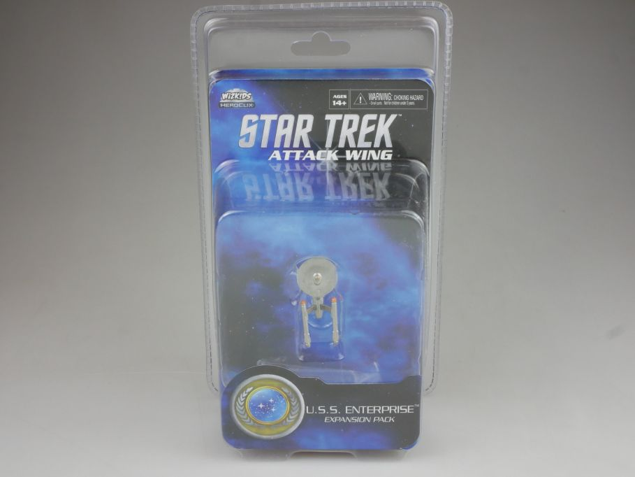 Star Trek Attack Wing Expansion Pack USS Enterprise HEROCLIX WiZK!DS BOX 111398