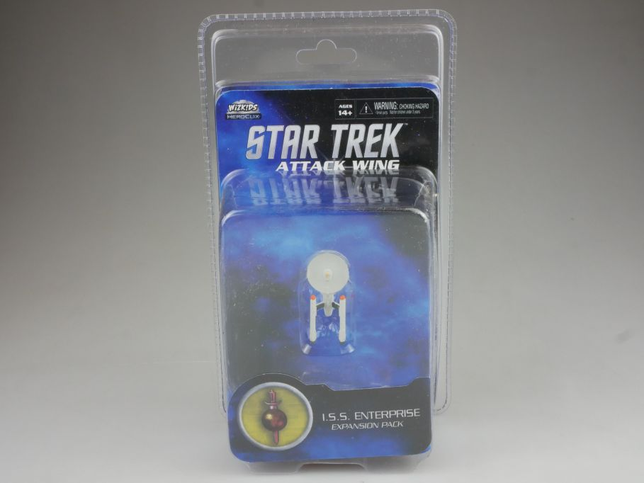 Star Trek Attack Wing Expansion Pack ISS Enterprise HEROCLIX WiZK!DS BOX 111399