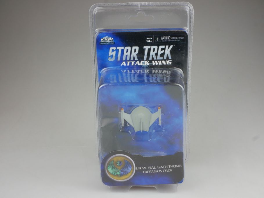 Star Trek Attack Wing Expansion Pack I.R.W. GAL GATH´THONG HEROCLIX BOX 111400