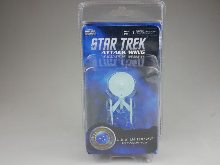 Star Trek Attack Wing Expansion Pack USS Enterprise HEROCLIX BOX 111401