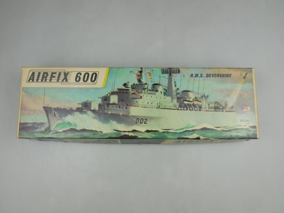 Airfix 1/600 H.M.S. Devonshire vintage Sammler w/ Box kit 111418