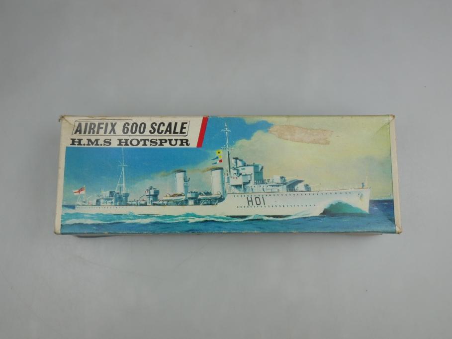 Airfix 1/600 H.M.S. Hotspur vintage Sammler w/ Box kit 111435
