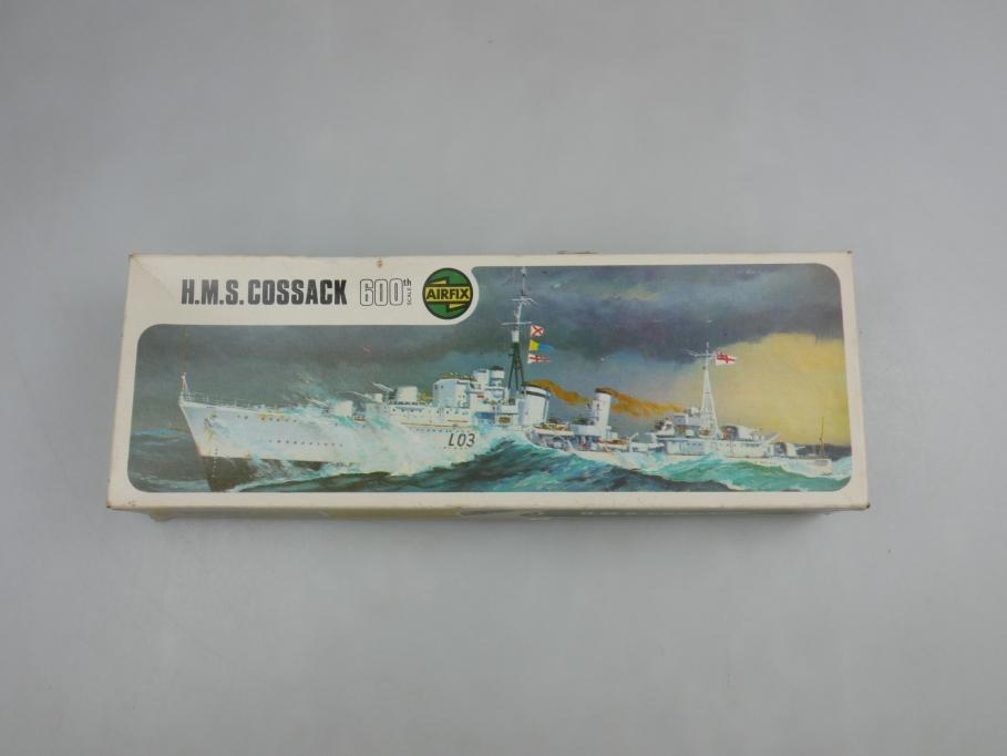 Airfix 1/600 H.M.S. Cossack vintage Sammler w/ Box kit 111471