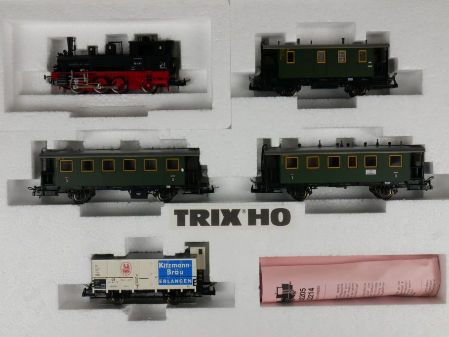 "TRIX H0 DC 21228 DB-Nebenbahnzug ""Seekuh"" mit Anleitung w/ Box 111478"