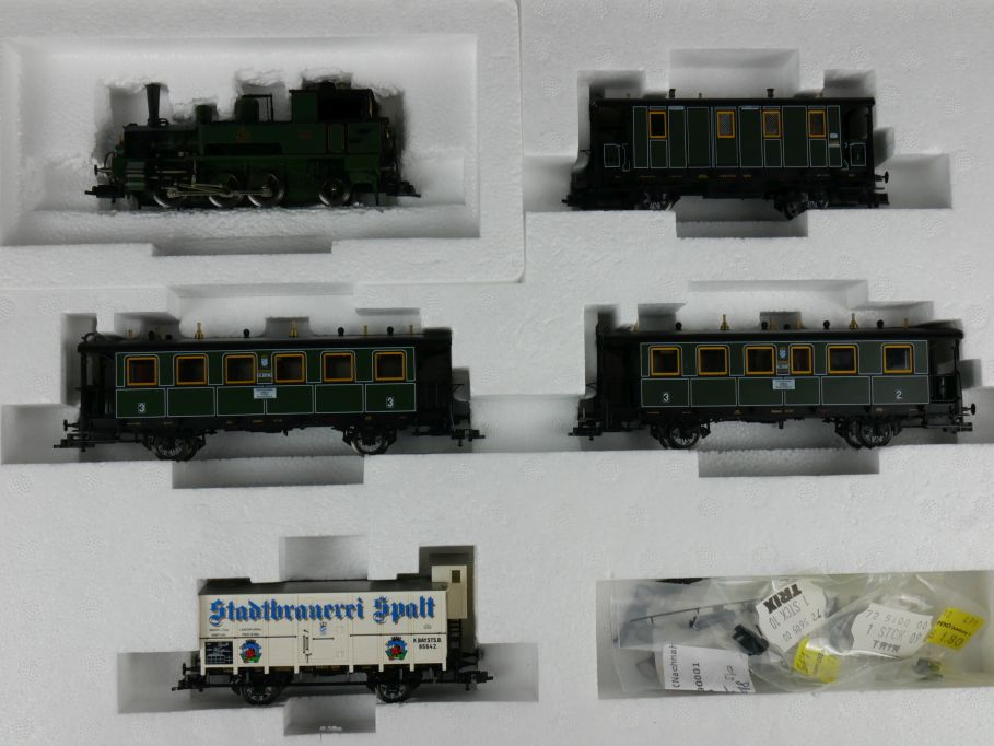 Trix H0 DC 21229 Bayrischer Lokalbahnzug mit Anleitung w/ Box 111480
