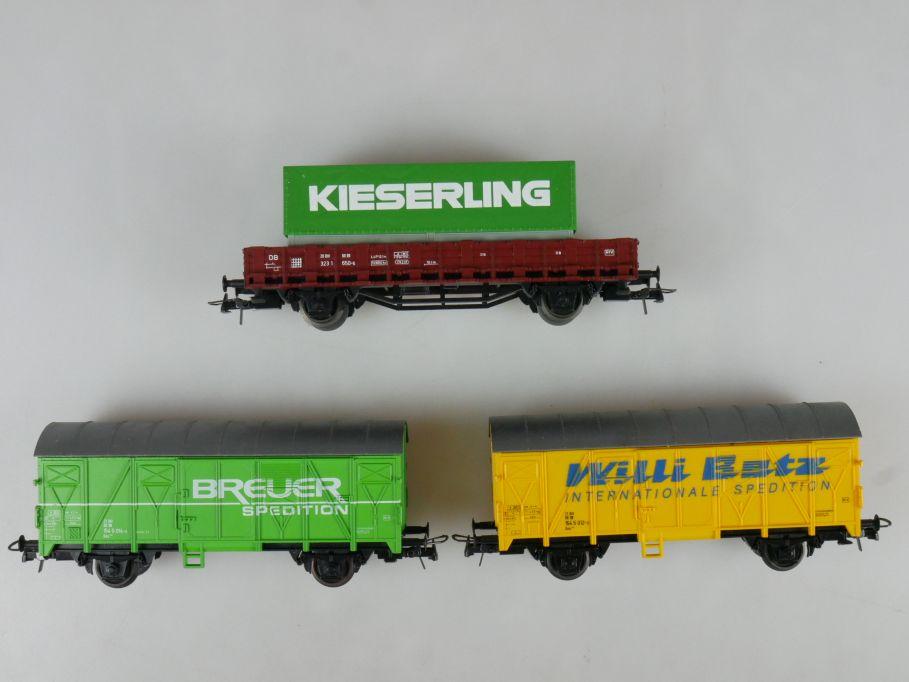 Roco H0 Güterwagen Willi Betz Breuer Spedition Kieserling w/o Box 111481