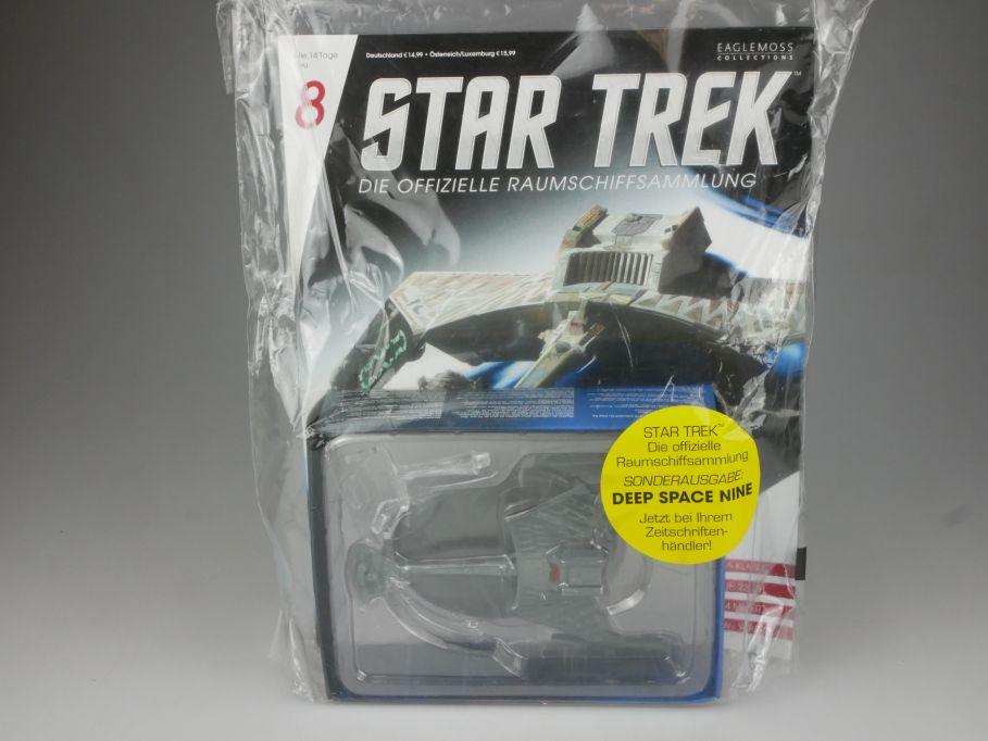 EAGLEMOSS Star Trek 8 Schlachtkreuzer K´T´INGA KLASSE Starship + Heft OVP 111457