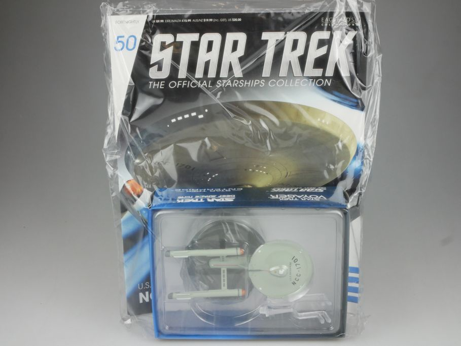 EAGLEMOSS Star Trek 50 USS Enterprise NCC-1701 Starship Coll. Heft OVP 111461