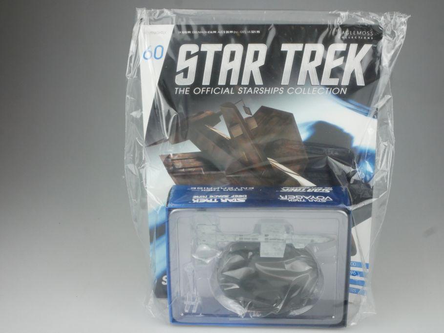 EAGLEMOSS Star Trek 60 SS BOTANY BAY Schlafschiff Starship Coll. Heft OVP 111463