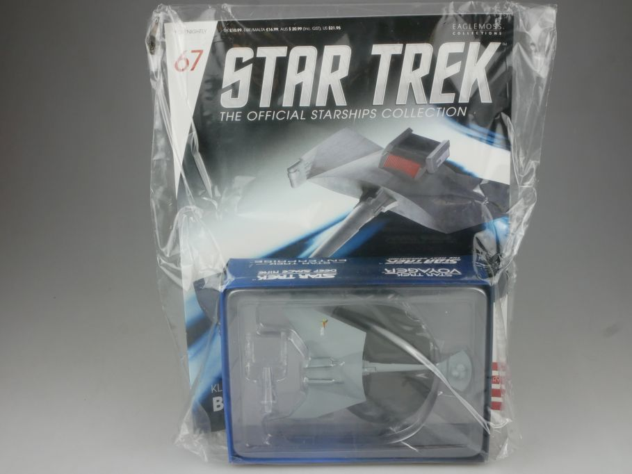EAGLEMOSS Star Trek 67 Klingon D7 Class Battle Cruiser Starship Heft OVP 111465