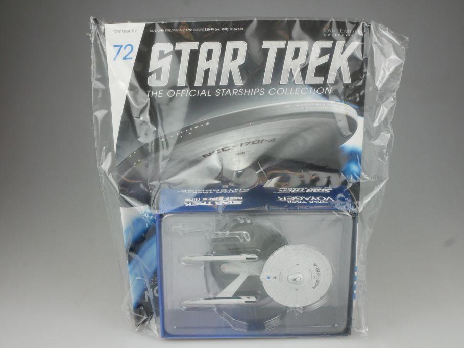 EAGLEMOSS Star Trek 72 USS Enterprise NCC-1701-A Starship Coll. Heft OVP 111466