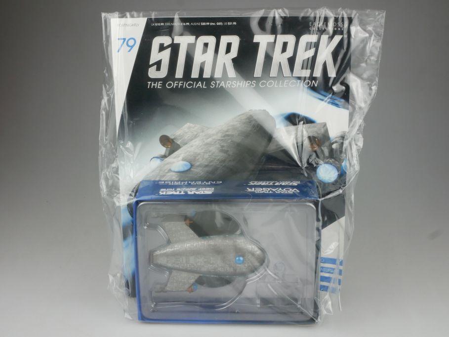 EAGLEMOSS Star Trek 79 HARRY MUDD´S Class-J Starship Coll. Heft OVP 111467