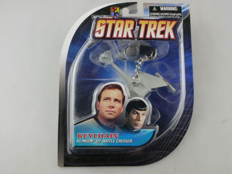 STAR TREK Schlüsselanhänger Klingon D7 Battle Cruiser KEYCHAIN BFI + Box 111509