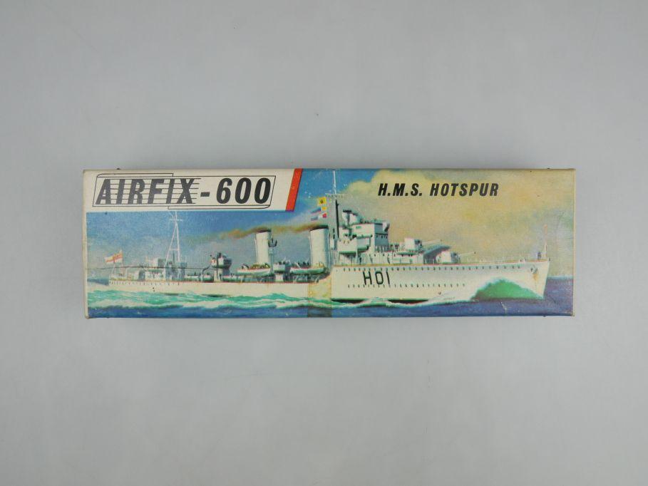 Airfix 1/600 H.M.S. Hotspur vintage Sammler w/ Box kit 111483