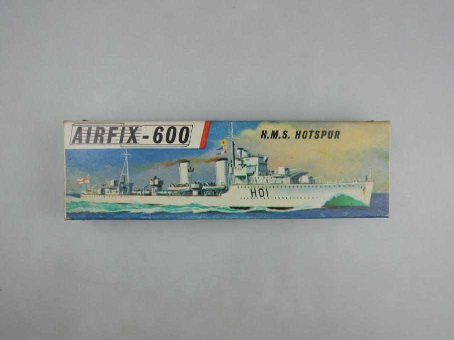 Airfix 1/600 H.M.S. Hotspur vintage Sammler w/ Box kit 111484