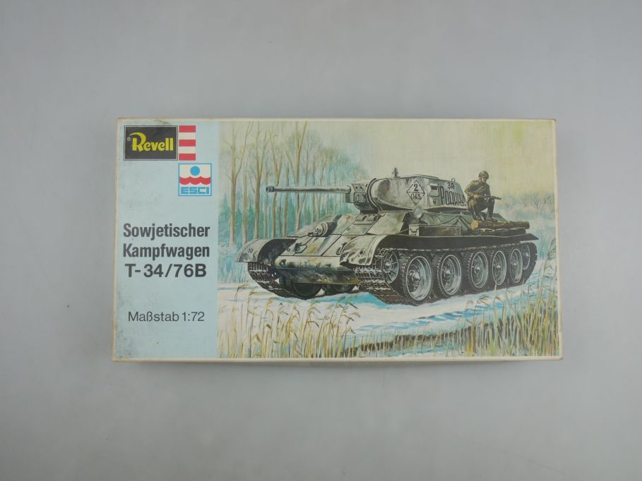 Esci Revell 1/72 Sowjetischer Kampfpanzer T-34/76B vintage w/ Box kit 111582