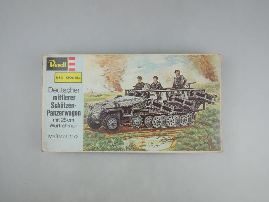 Esci Revell 1/72 mittlerer Schützenpanzerwagen mit 28cm Wurf w/ Box kit 111601
