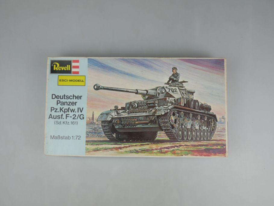 Esci Revell 1/72 Dt. Panzer Pz.Kpfw.IV Ausf.F-2/G vintage w/ Box kit 111612