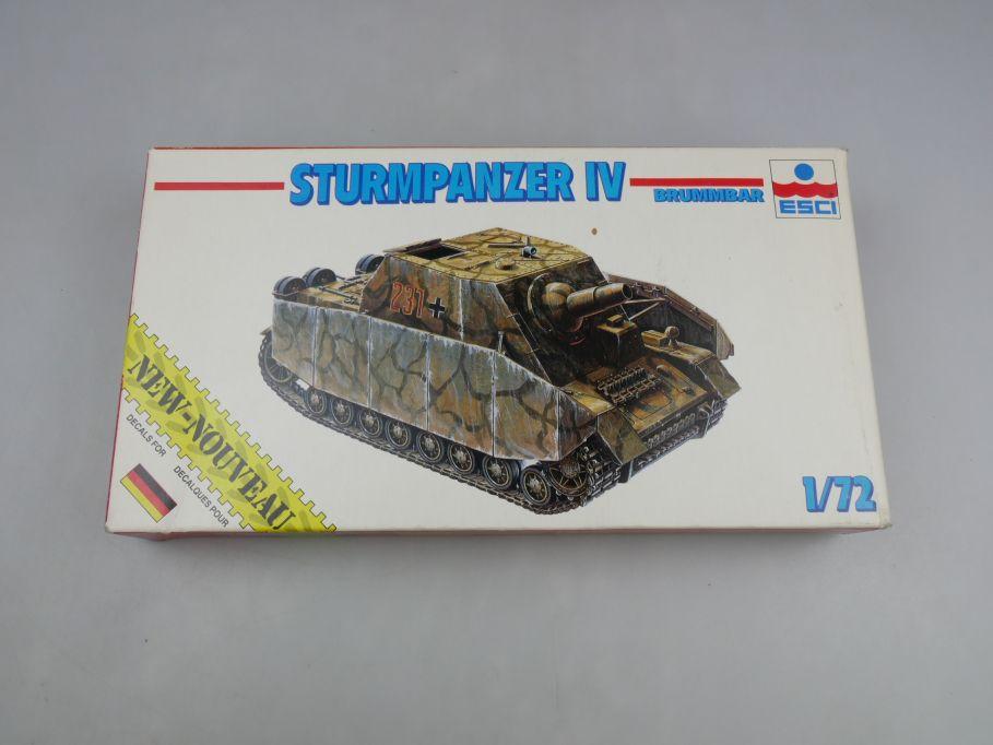 Esci 1/72 Sturmpanzer IV Brummbar 8311 Sammler vintage w/ Box kit 111633