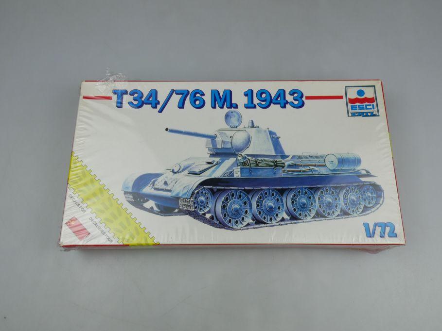 Esci 1/72 T34/76 M. 1943 8335 Sammler vintage w/ Box kit 111637