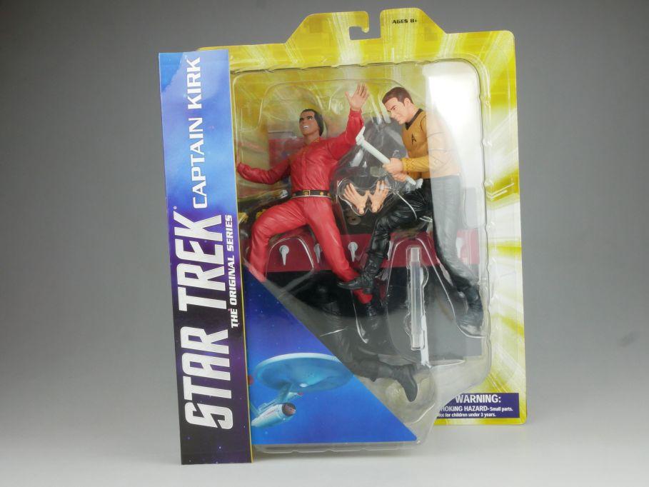 Diamond Select STAR TREK the orig series Captain Kirk vs Khan Diorama Box 111543