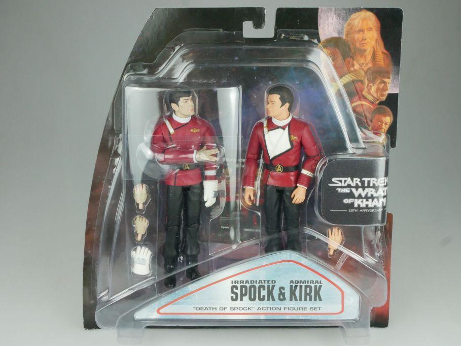 Diamond Select STAR TREK Wrath of Khan death of Spock Admiral Kirk Figur 111547