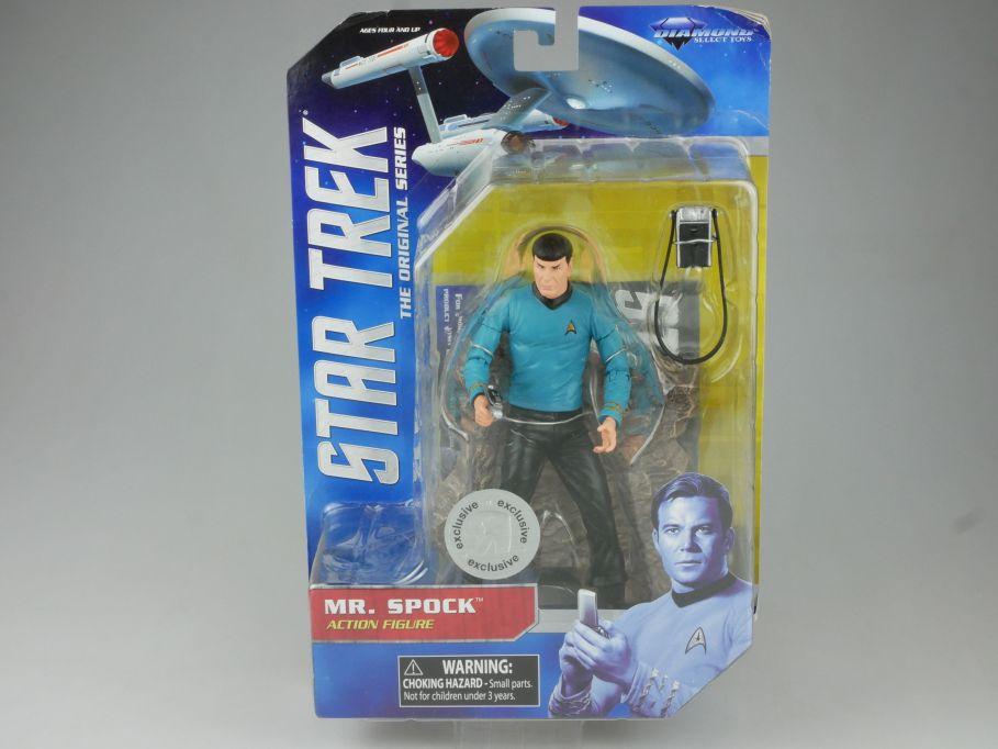 Diamond Select STAR TREK orig. series Mr. Spock Action Figur + Box 111548