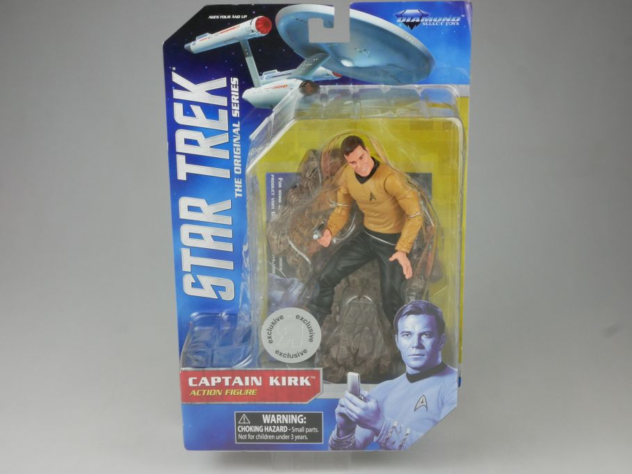 Diamond Select STAR TREK orig. series Captain Kirk Action Figur 2013 Box 111549